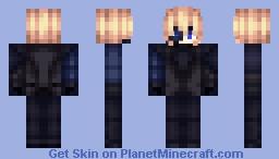 Genshin impact Dainsleif [No Cape] Minecraft Skin