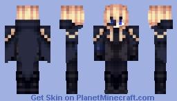 Genshin impact Dainsleif [1.12] [With Cape] Minecraft Skin