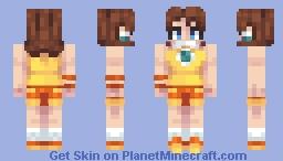 Daisy Mario Tennis - Mega Mario Madness Minecraft Skin