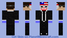 PayDay: The Heist (Dallas) Minecraft Skin