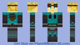 Damon Baird Minecraft Skin