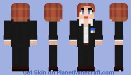 Dana Scully Minecraft Skin