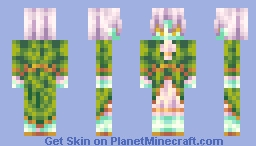 Dandelion - Bored, Not Back. Minecraft Skin