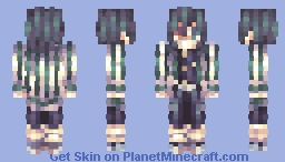 「I pray for the strength to forgive myself, who can only live for my own sake」 Minecraft Skin