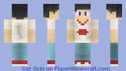 Danny Fenton Minecraft Skin