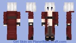 Devil Hunter, Son of Sparda: Young Dante (Devil May Cry 3 Dante's Awakening) Minecraft Skin