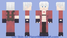 Featuring Dante from the Devil May Cry™ Series (+ New Alts) Minecraft Skin