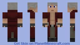 Dante (Devil May Cry) Minecraft Skin