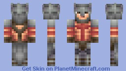 Dante (Dante's Inferno) Minecraft Skin