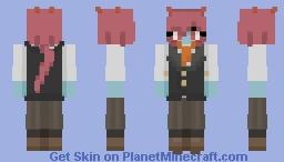 Half Guardian (Formal) Minecraft Skin