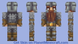 Darin the Dwarf (Commission) Minecraft Skin