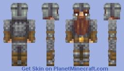 Darin the Dwarf (Commission) Minecraft Skin