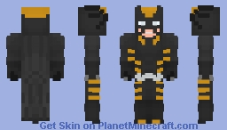 Dark Claw - Logan Wayne - Amalgam Comics Minecraft Skin