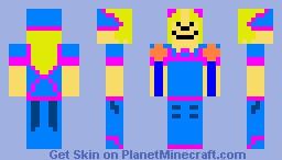 Dark Magician Girl Minecraft Skin
