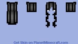 black HB Minecraft Skin