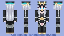 Dark Verdict (Love Nikki) Minecraft Skin