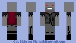 dark notch Minecraft Skin