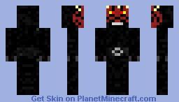Darth Maul  [Noise edit] Minecraft Skin