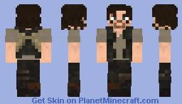 Daryl Dixon TWD Minecraft Skin