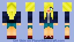 first female skin :D Minecraft Skin