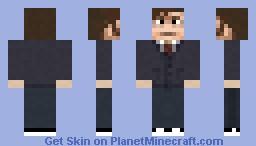 Tenth Doctor Minecraft Skin