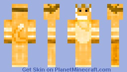 daxter from jak and daxter (3D features) Minecraft Skin