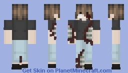 𝐒𝐤𝐢𝐧𝐭𝐨𝐛𝐞𝐫 𝐝𝐚𝐲 𝟏𝟒 - 𝐁𝐥𝐨𝐨𝐝 ♥ Bananasome Minecraft Skin