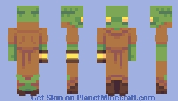 cell block tonberry - SKINTOBER Minecraft Skin