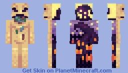 oogie boogie man - SKINTOBER Minecraft Skin