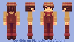 no jumping in the wagon! - SKINTOBER Minecraft Skin
