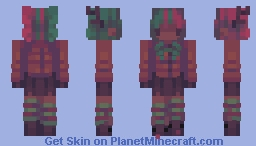 Day 6: reindeer // 12 Days of Skinmas Minecraft Skin