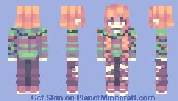 Day 8: Christmas lights // 12 Days of Skinmas Minecraft Skin