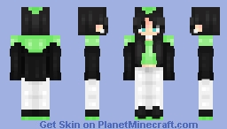 Billie Eilish Minecraft Skin