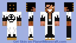 Zaraki kenpachi (bleach) Minecraft Skin