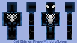 🕸️ Spider-Man (Black Suit) 🕸️ Minecraft Skin