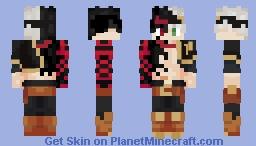 Asta Devil Contract (Black Clover) Minecraft Skin