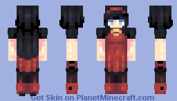 [Kari] Red Girls Minecraft Skin