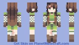 𝒞𝓇𝑒𝓈𝓉𝓌𝒶𝓉𝑒𝓇𝓈 - The Green Archer Minecraft Skin