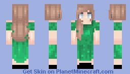 pretty lady Minecraft Skin