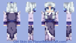 Princess Yue ~ Avatar The Last Airbender Minecraft Skin