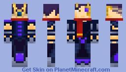 Darren- Amethyst CyberKnight (looks better in 3D) Minecraft Skin