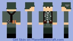 M36 Heer Soldat (Wehrmacht) Minecraft Skin