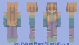 -talking to the moon-remake series- Minecraft Skin