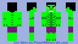 Four-Armed Kraken-Hulk - The Incredible Hulk 1982 Minecraft Skin