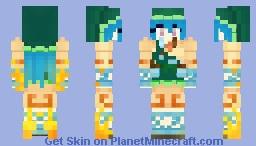 Keiki Haniyasushin (Touhou) Minecraft Skin