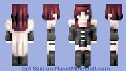 ♡ 𝓿𝒶𝓁𝓀𝓎𝓇𝒾𝑒𝓃 ♡ summer rose | rwby Minecraft Skin
