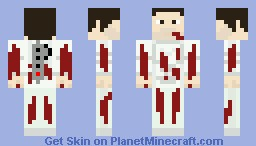 Isaac Clarke Wounded Minecraft Skin