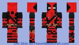 Deadpool (Movie Version) Minecraft Skin