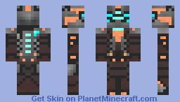 Isaac Clarke Minecraft Skin