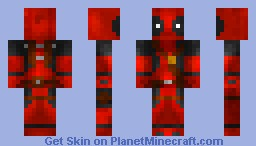Deadpool - Merc With a Mouth Minecraft Skin